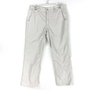 Mountain Khakis Chino Pants Beige Slim Fit 33 x 28
